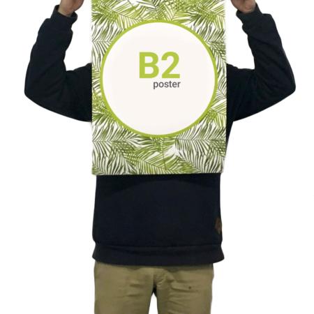 چاپ پوستر B2