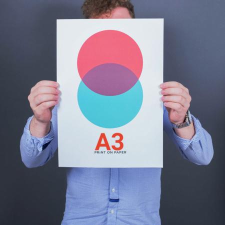 چاپ پوستر A3