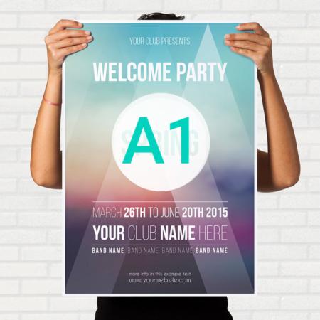 چاپ پوستر A1