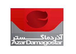 لوگو logo آرم png آذر دما گستر
