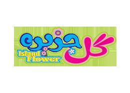 لوگو logo آرم png گل جزیره
