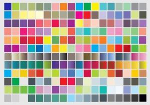 رنگ شناسی در چاپ