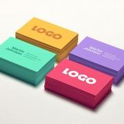 مفهوم رنگ ها در کارت ویزیت