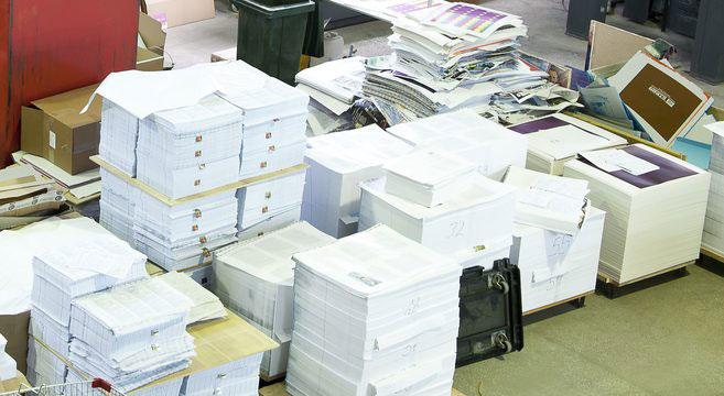 انواع کاغذ چاپ