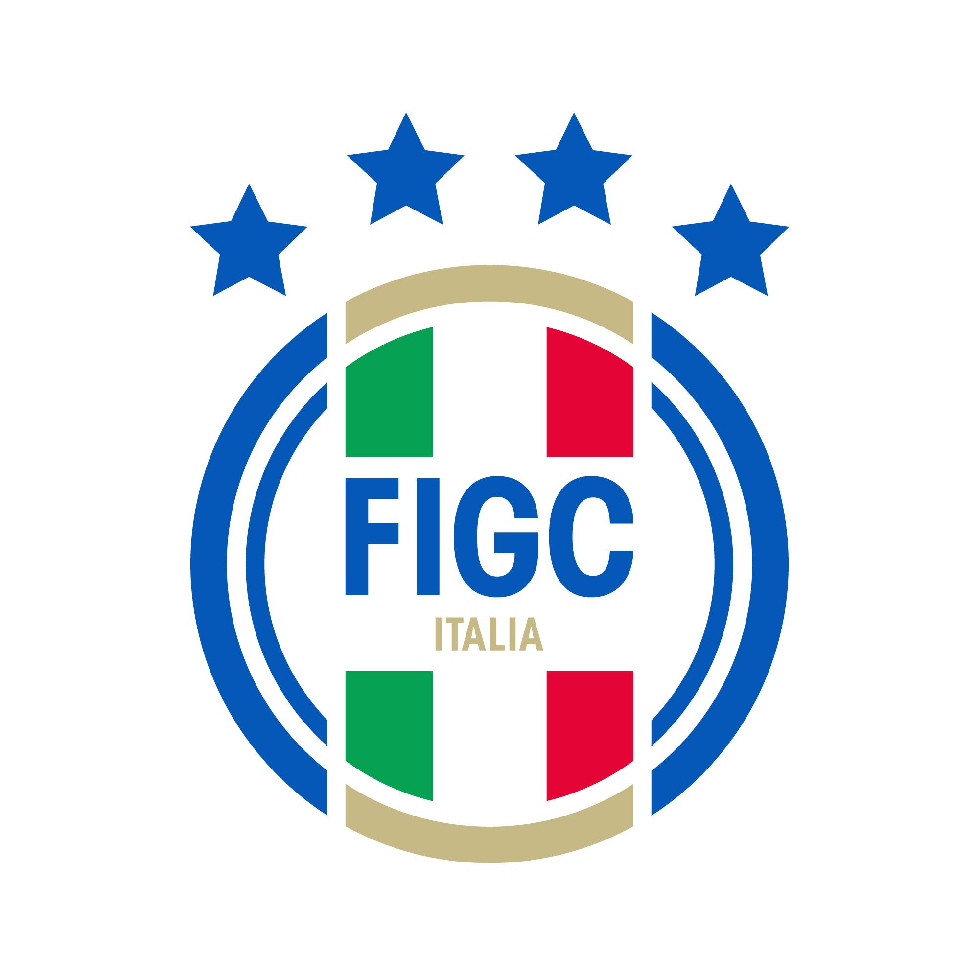 italia azzurri new figc italy logo